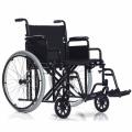 Инвалидное кресло-коляска повышенной грузоподъемности с увеличенной шириной сиденья.